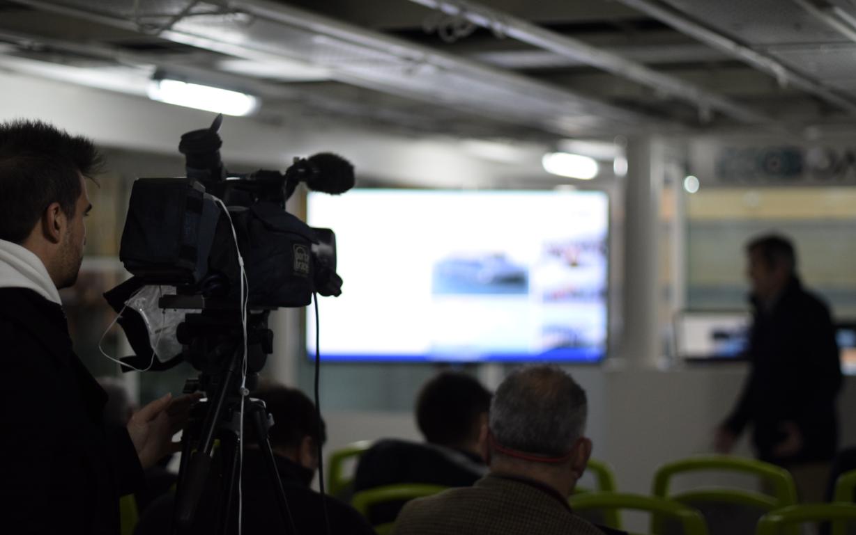 Media meeting, ECOCAT's deck