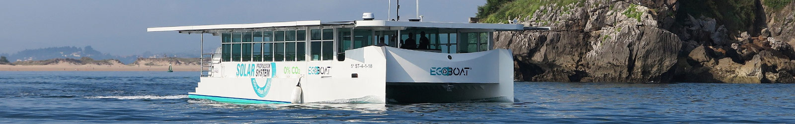 ECOBOAT - ecocat navegando